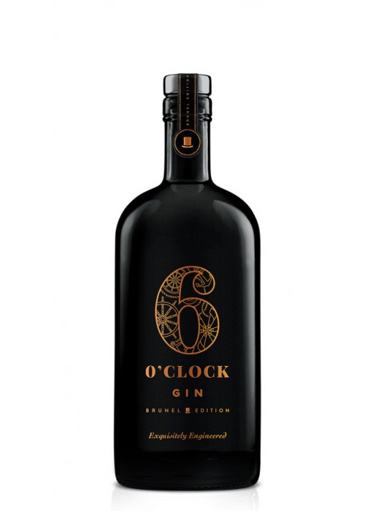 6 O'CLOCK GIN BRUNEL EDITION 50%