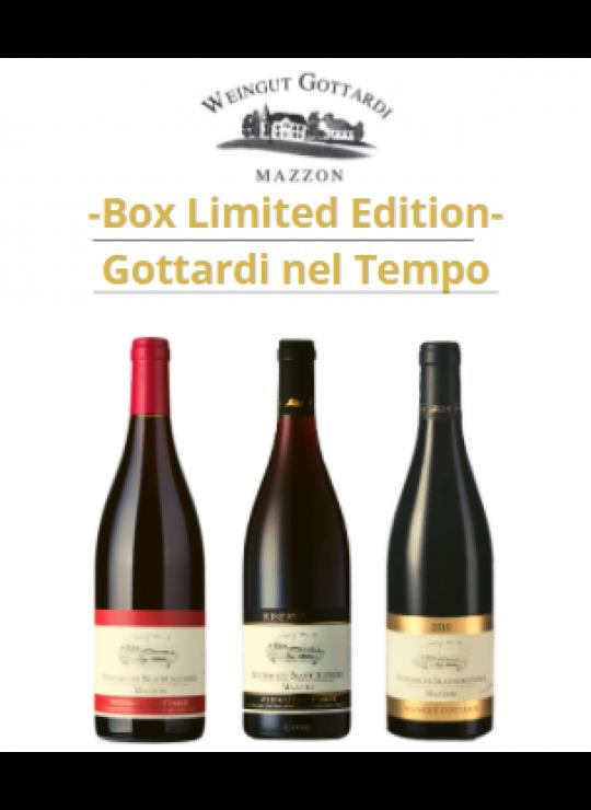 Box Degustazione GOTTARDI NEL TEMPO Limited Edition (acquistabile 1 solo box per cliente)