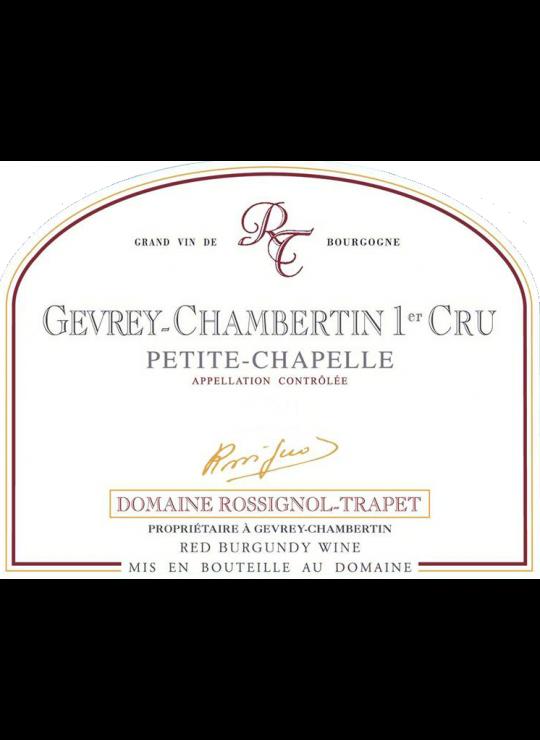 GEVREY-CHAMBERTIN 1°CRU PETITE CHAPELLE 2016