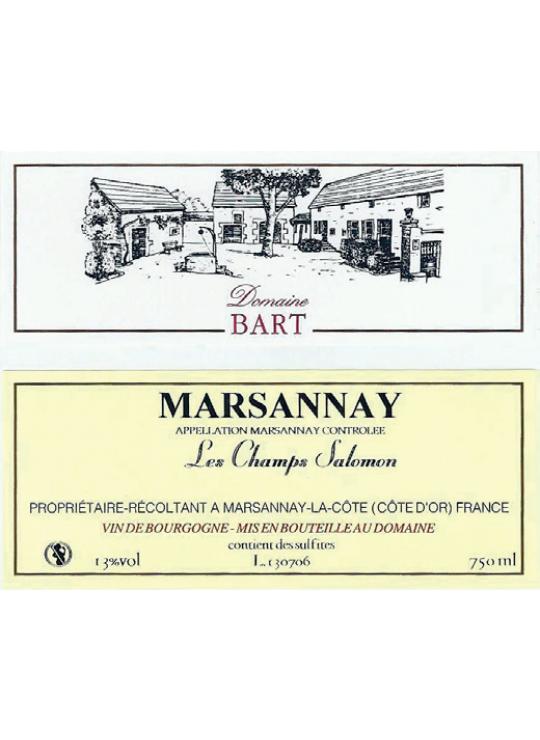 "MARSANNAY ""LES CHAMP SALOMON"" 2017 0.750"
