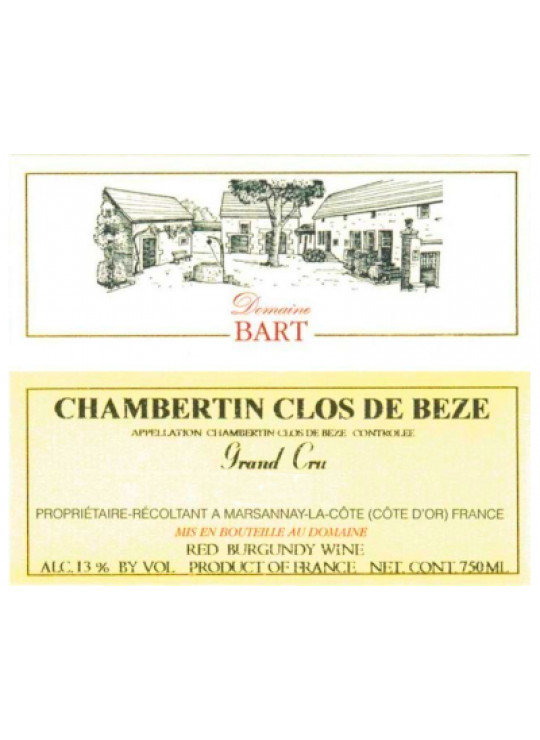 CHAMBERTIN CLOS DE BÈZE GRAND CRU 2017